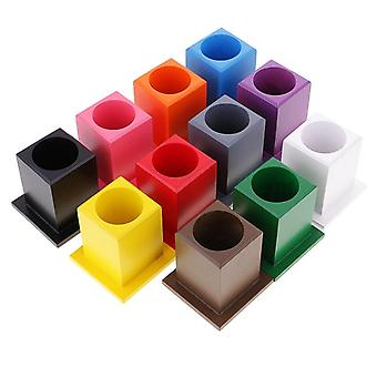 Pencil Holders, Montessori Crayons Holder, Kids Toddlers Preschool Training Learning Toy
