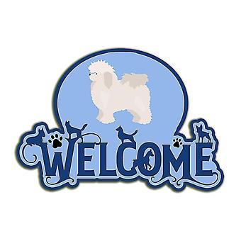 Decorative plaques carolines treasures ck8000dhw welcome door hanger