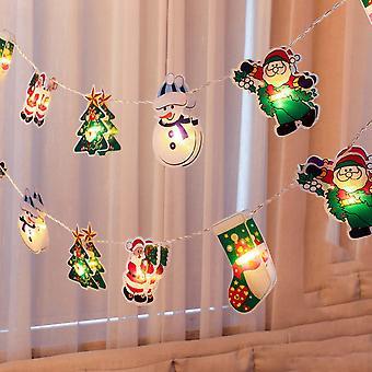 Christmas Lights String Led Room Decoration Christmas Treealways Bright