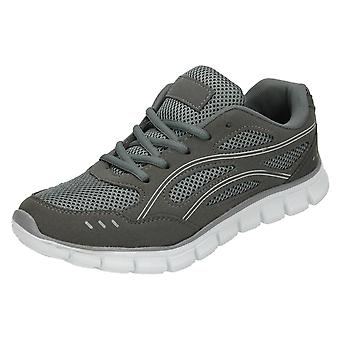 Ladies Spot On Casual Trainers