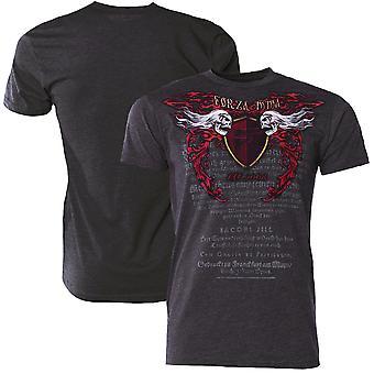 "Forza Sports ""Immortal Crest"" MMA T-Shirt - Charcoal"