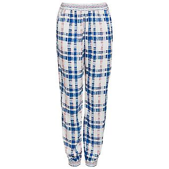 Ex Top Shop Check Mix And Match Joggers