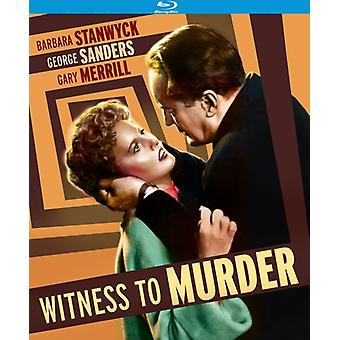 Witness to Murder [BLU-RAY] USA import