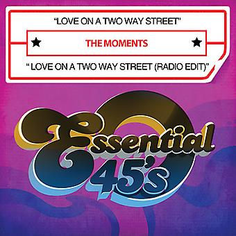 Moments - Love on a Two Way Street/Love on a Two Way Street [CD] USA import