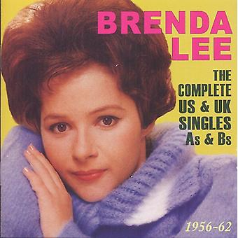 Brenda Lee - Brenda Lee: Kompletny nas & Uk Singles jako idealna b 1956-62 [CD] USA import