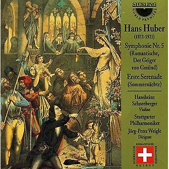 H. Huber - Hans Huber: Symphony No. 5; Erste Serenade [CD] USA import