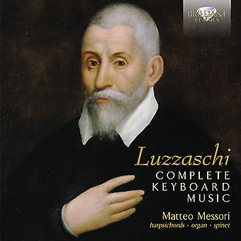 Luzzaschi - Comp Keyboard Music [CD] USA import