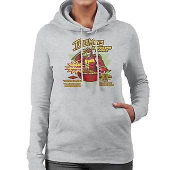 Kerosene Loops Turbo Man Jingle All The Way Cereal Women's Hooded Sweatshirt