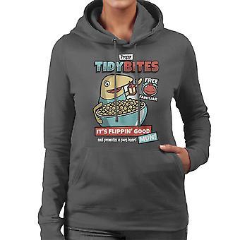 Proper Tidy Bites Ni No Kuni Lord High Cereal Women's Hooded Sweatshirt