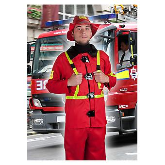 Trajes de los hombres los hombres bombero