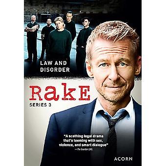 Rake: Sarja 3 [DVD] Yhdysvallat tuoda