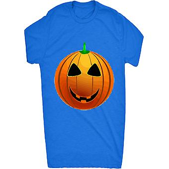 Smiling Smiley Pumpkin Halloween Face_vectorized For Men