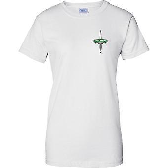 Royal Marines Commando dolk - Elite zeemacht - dames borst Design T-Shirt