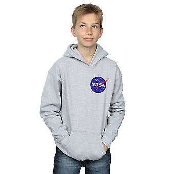 NASA Boys klassischen Insignien Brust Logo Hoodie