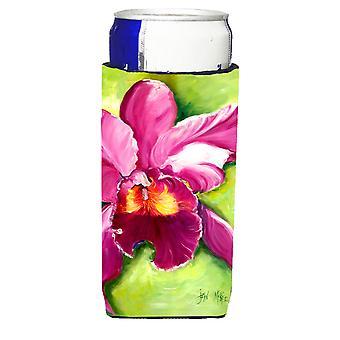 Carolines Schätze JMK1176MUK Orchidee Ultra Getränke Isolatoren für schlanke Dosen