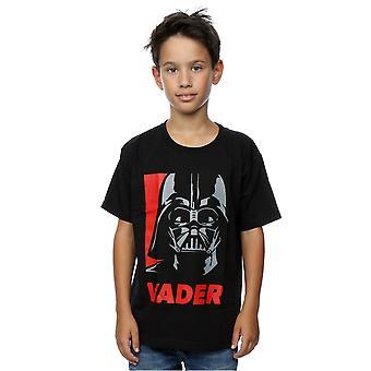 Camiseta de Vader cartel Star Wars niños