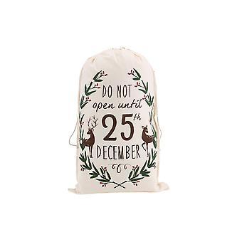 CGB cadeaux Noël ne s'ouvrent pas jusqu'à Noël renne sac