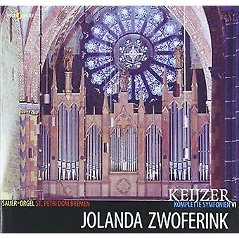 Jolanda Zwoferink - Keijzer: Complete Symphonies VI [CD] USA import