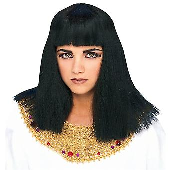 Cleopatra Egyptian Queen Goddess Black Women Costume Wig