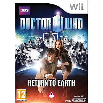 Doctor Who Return to Earth (Wii) - New