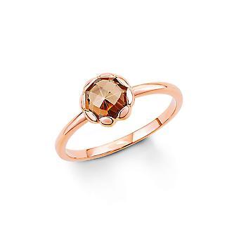 anello di s. Oliver gioiello signore argento zirconi oro Rosé SO1294