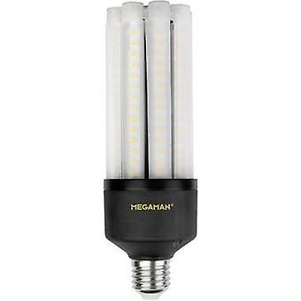 Megaman LED (yksivärinen) ETY A+ (A++ - E) E27 Sauva 27 W = 50 W Lämmin valkoinen (Ø x L) 63 mm x 188 mm 1 kpl(s)