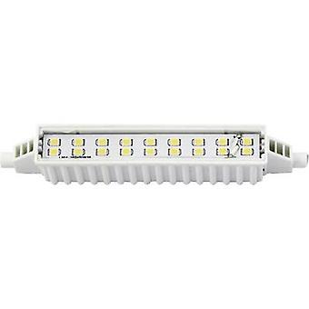 LightMe LED (monochrome) EEC A+ (A++ - E) R7s Tubular 6 W Warm white (Ø x L) 16.50 mm x 118 mm 1 pc(s)