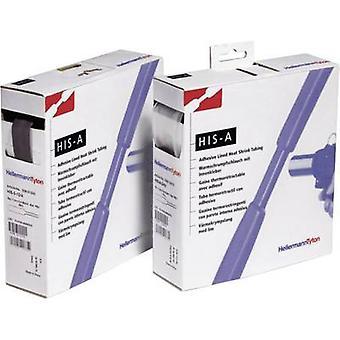 HellermannTyton 308-10603 krympslang + självhäftande Transparent 6 mm krympning: 3:1 5 m
