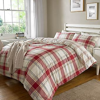 Pieridae Check Duvet Cover Bedding Set