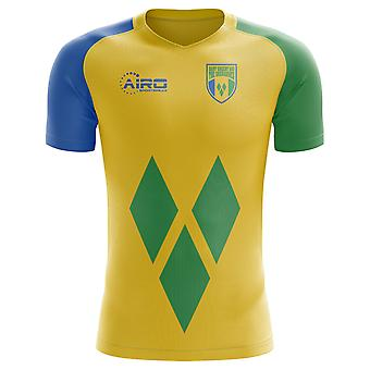 2020-2021 St Vincent and Grenadines Home Concept Football Shirt - Womens