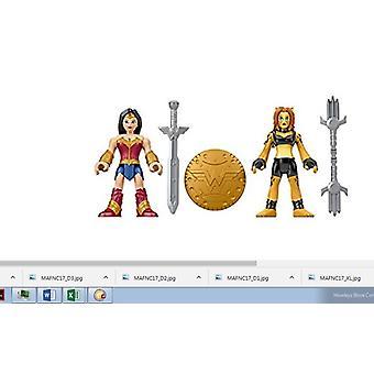 Imaginext - DC Superfriends Justice League Wonderwoman & Cheetah