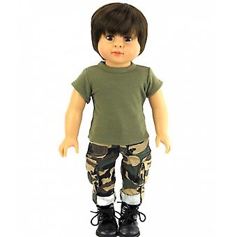 "18"" Doll Clothing, Army Outfit"