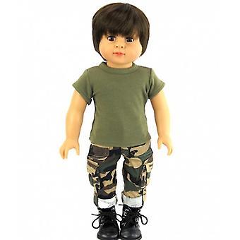 """18 """"ενδυμασία κούκλα, στολή στρατού"""
