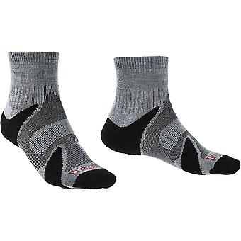 Bridgedale Mens Trail Sport Lightweight Merino Walking Socks
