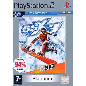 SSX3 Platinum (PS2) - Usine scellée