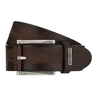 Strellson belts men's belts leather belt Cognac 7551