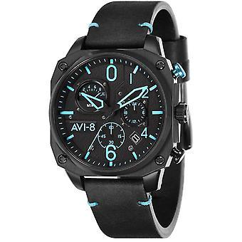 AVI-8 Hawker Hunter Watch - Black/Blue