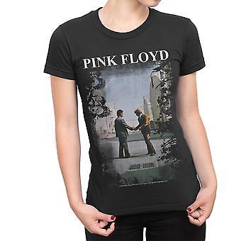 Pink Floyd - Burning Man Ladies T-Shirt