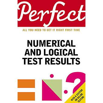 Perfect Numerical and Logical Test Results by Joanna Moutafi - Marian
