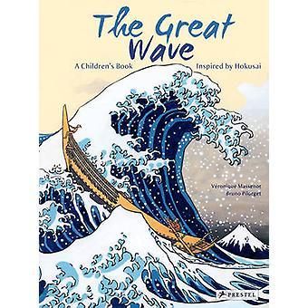 موجه كبيرة-كتاب للأطفال مستوحاة من هوكوساي قبل Ma فيرونيك