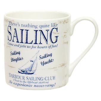 ECP Mug CAJ40GA White With Sailing Design