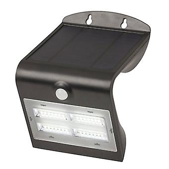 TechBrands Solar Rechargeable Light w/ Motion Sensor