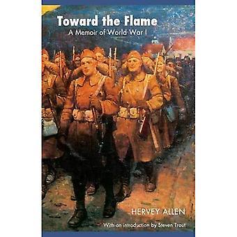 In Richtung der Flamme: eine Abhandlung des ersten Weltkrieges