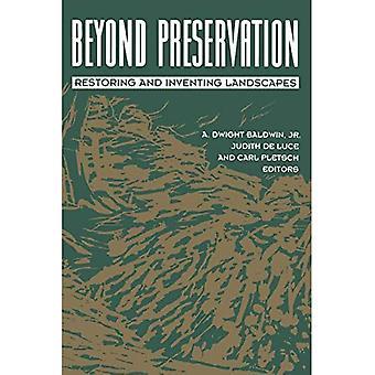 Beyond Preservation: Restoring and Inventing Landscapes