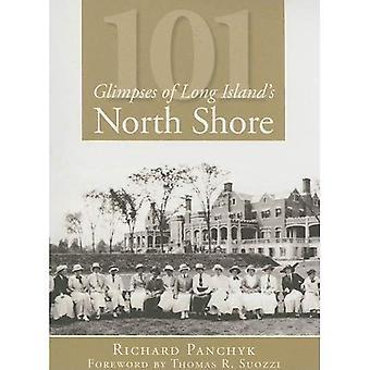 101 vislumbres da costa norte de Long Island