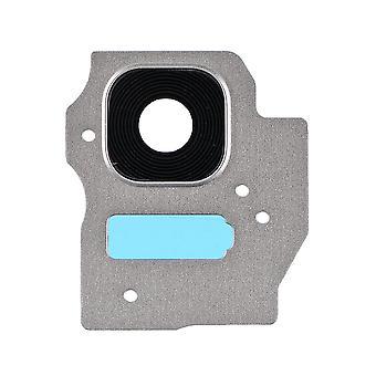 サムスンギャラクシーS8プラスのために - SM-G955 - レンズ付きリアカメラホルダー - シルバー