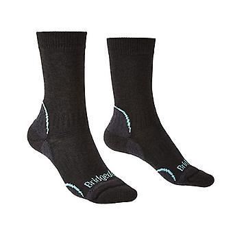 Bridgedale Hike kevyt T2 Coolmax naisten sukka minttu