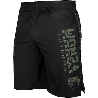 Venum Signature Training Shorts - Black/Khaki
