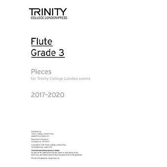 Flute Exam Pieces Grade 3 2017 2020 (Part Only) - 9780857365071 Book