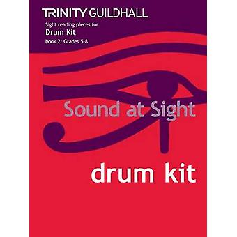 Sound at Sight Drum Kit Book 2 - Grades 5-8 by Trinity Guildhall - 978